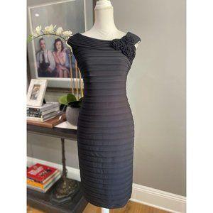 Adrianna Papell Cocktail Dress Black 4